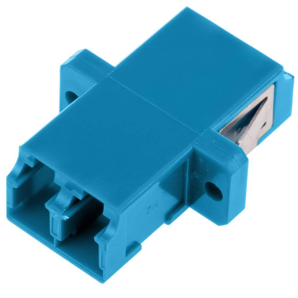 Acoplador de fibra óptica LC/PC a LC/PC monomodo duplex