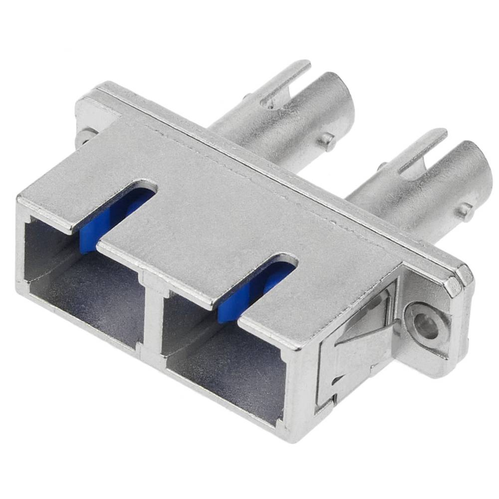 Fiber Optic Coupler SC to ST multimode duplex - Cablematic