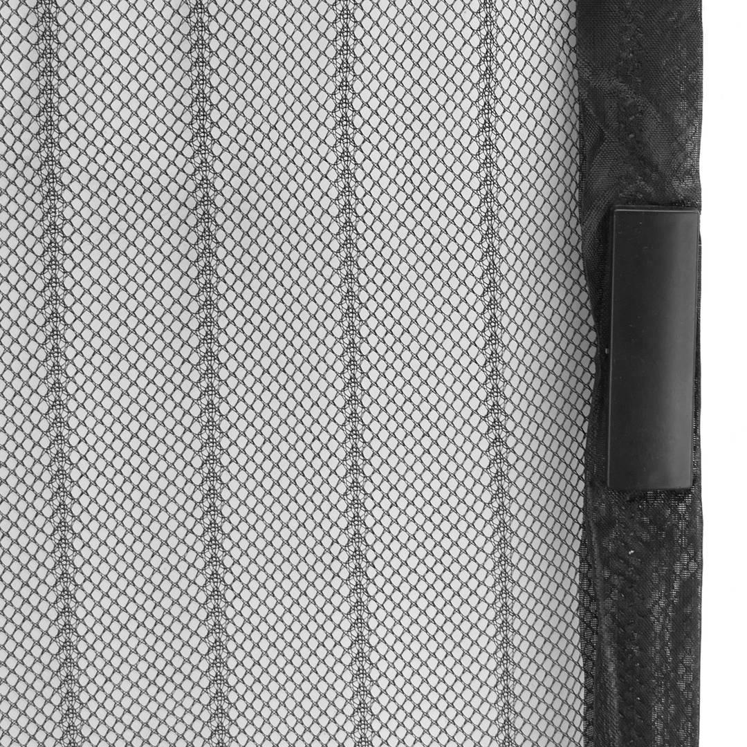 de Autoadhesiva Cortina Bianco 110x100 CM para Ventanas Batientes WxH WISKEO Mosquitera Ventana Recortable Magn/ética Protecci/óN contra Insectos Todos Los Tama/ños No Requiere Perforaci/óN