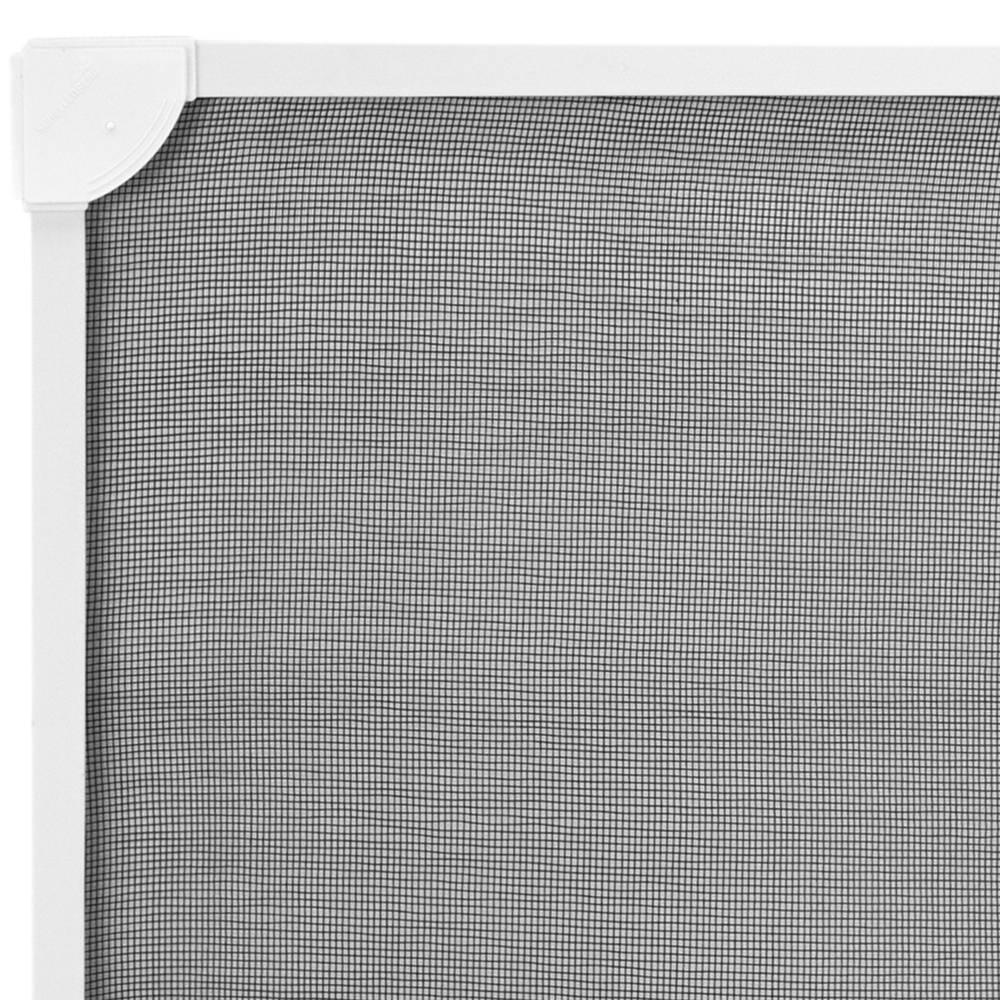 Moustiquaire Fenetre Max 120 X 120 Cm Magnetique Blanc Pvc Souple Cablematic
