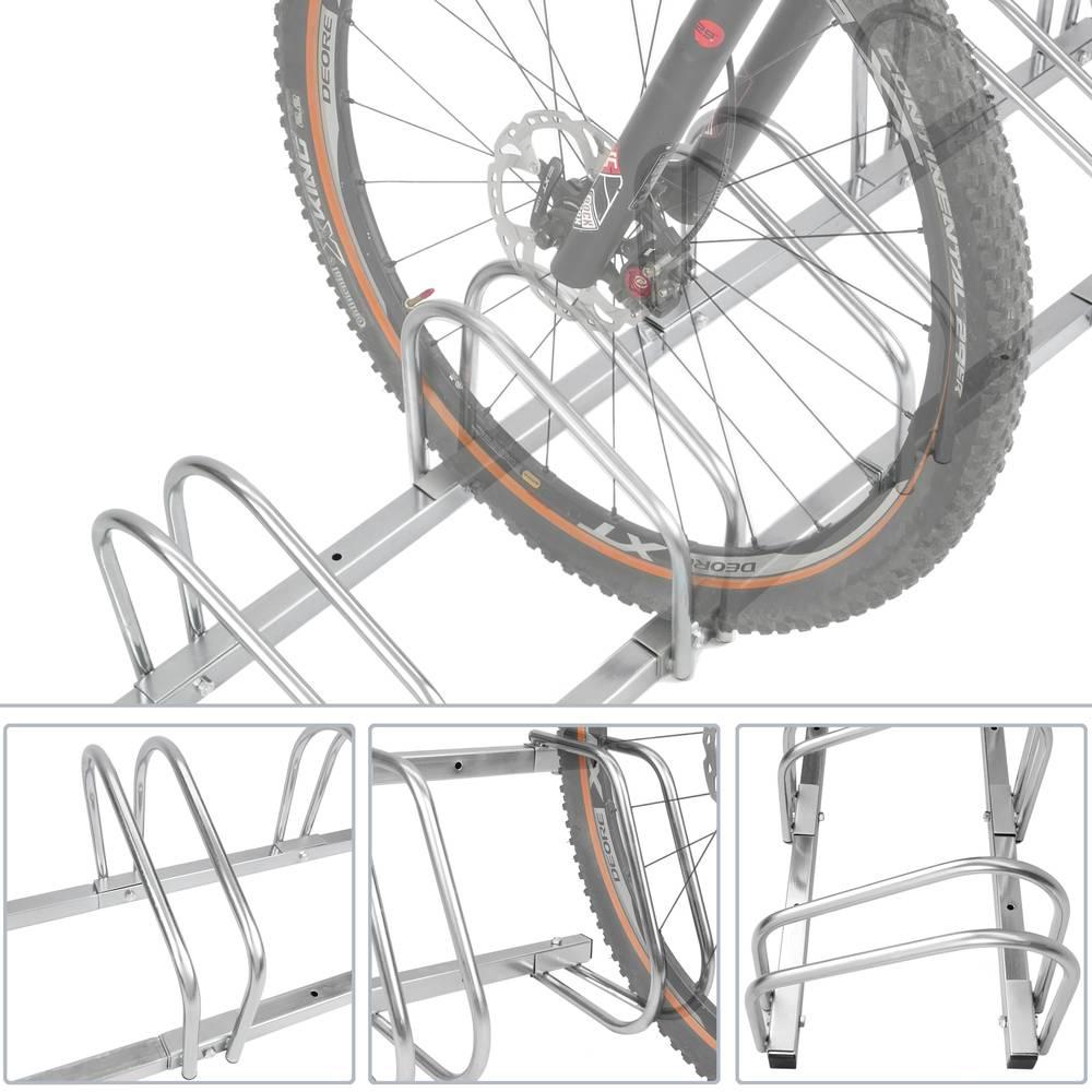 Fixation Pour Velo Garage râtelier 3 vélos système range-vélo support pour bicyclette
