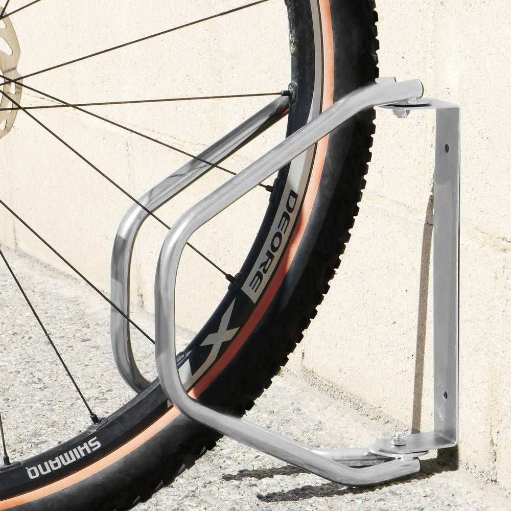 Supporto Universale per Appendere a Parete Deposito per Biciclette Salvaspazio per Biciclette da Parete per Garage GJQGYY Portabiciclette per Montaggio a Parete