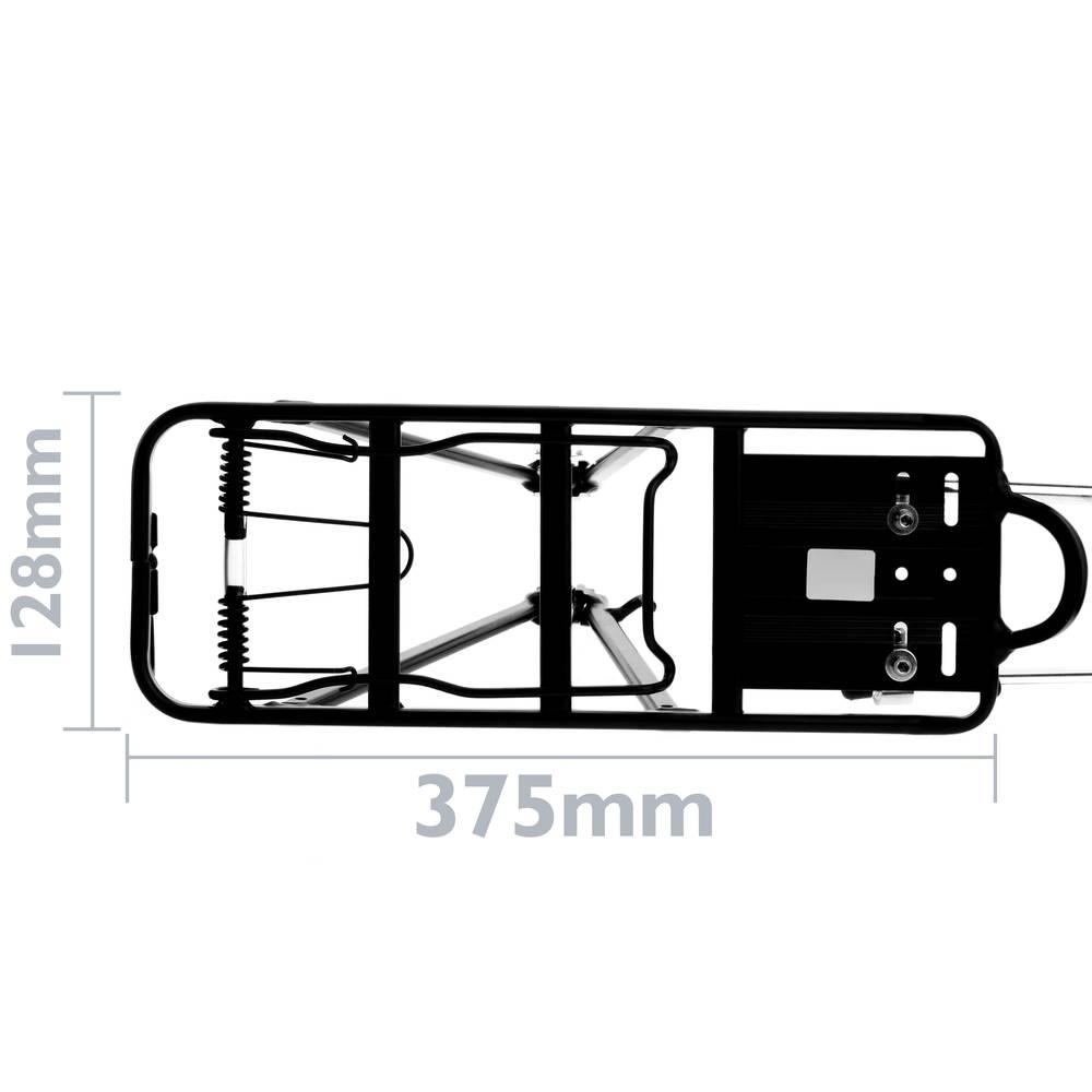 Cablematic V/élos porte-bagages arri/ère avec garde-corps en m/étal 38x14cm