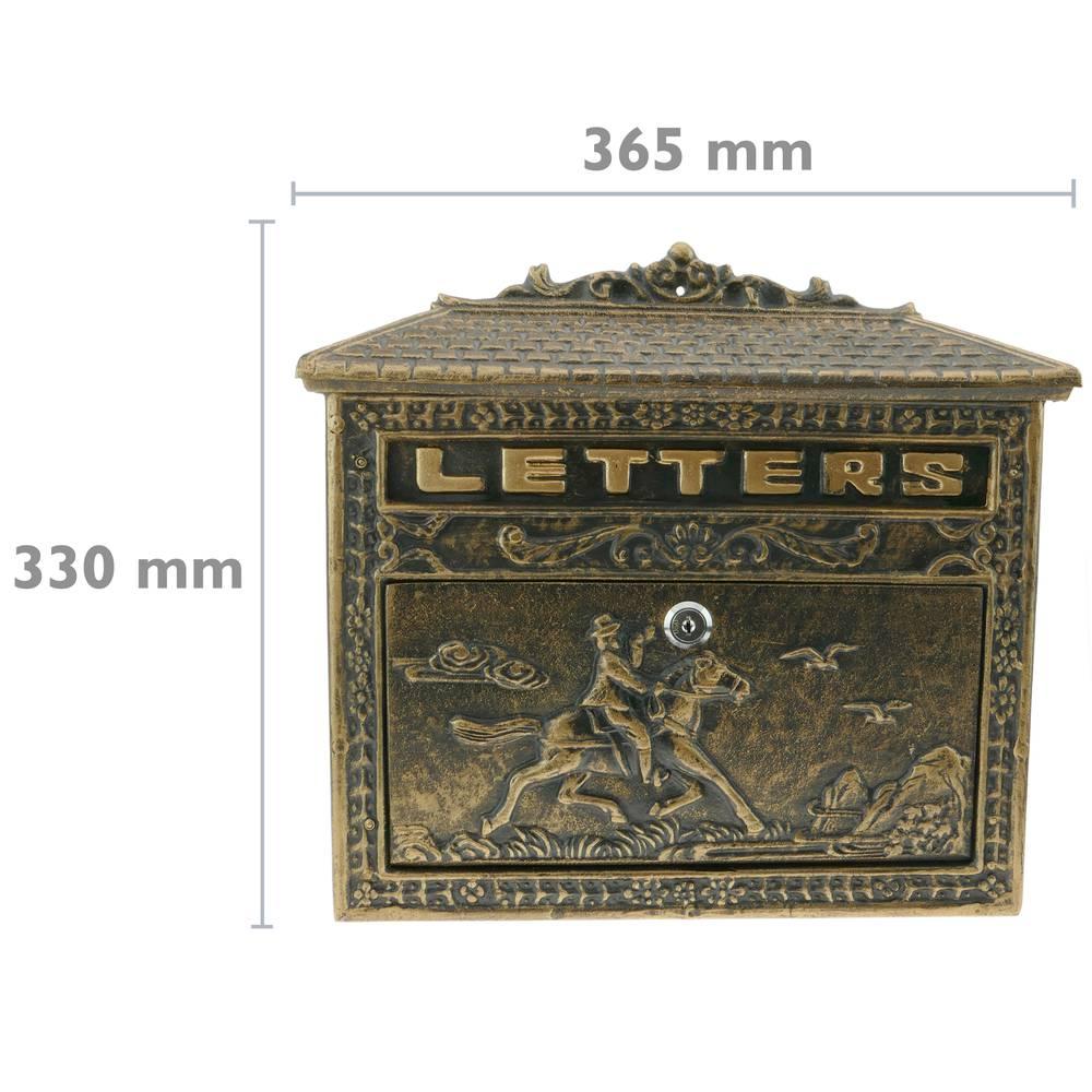 Antique Furniture Supplies Mail: Vintage Letter Mail Post Box Mailbox Letterbox Antique