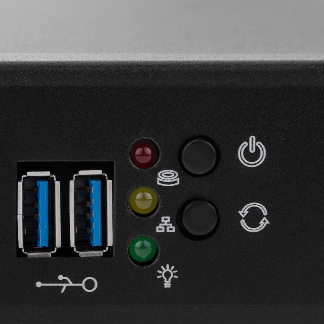 Server case rackmount chassis 19 inch IPC mini-ITX 1U depth