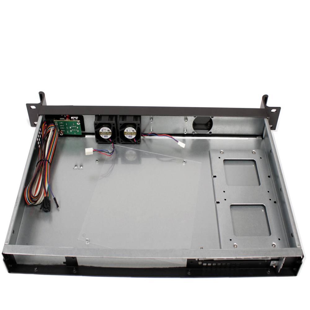 Server case rackmount chassis 19 inch IPC mini-ITX 1U 1x3 5