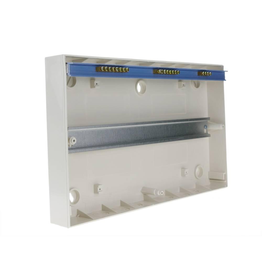Cablematic Caja de distribuci/ón el/éctrica SPN 18M IP40 de superficie de pl/ástico ABS