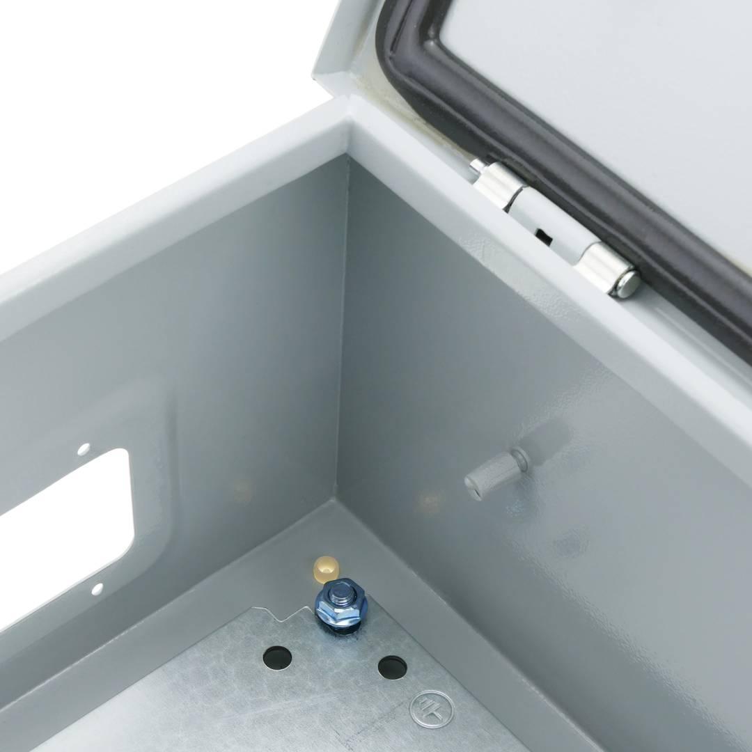 bo te de distribution lectrique en m tal ip65 pour. Black Bedroom Furniture Sets. Home Design Ideas
