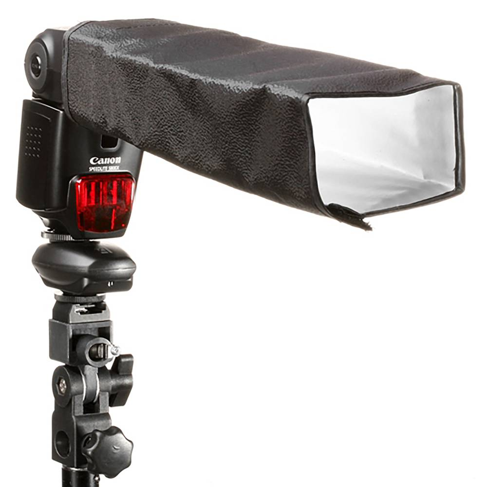 Speedlite flash reflector with adhesive tape - Cablematic