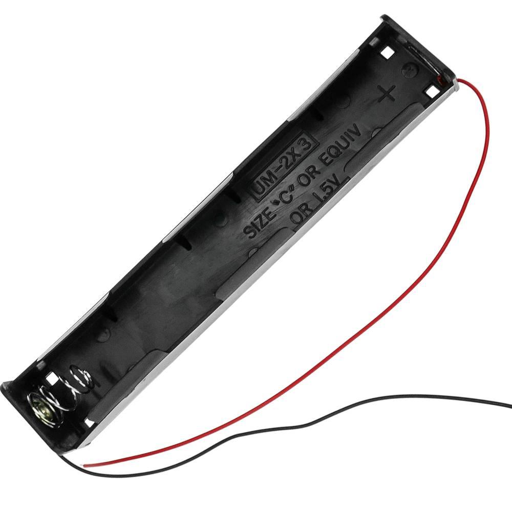 Battery Compartment Holder For 3 C Lr14 R14 1 5v Batteries