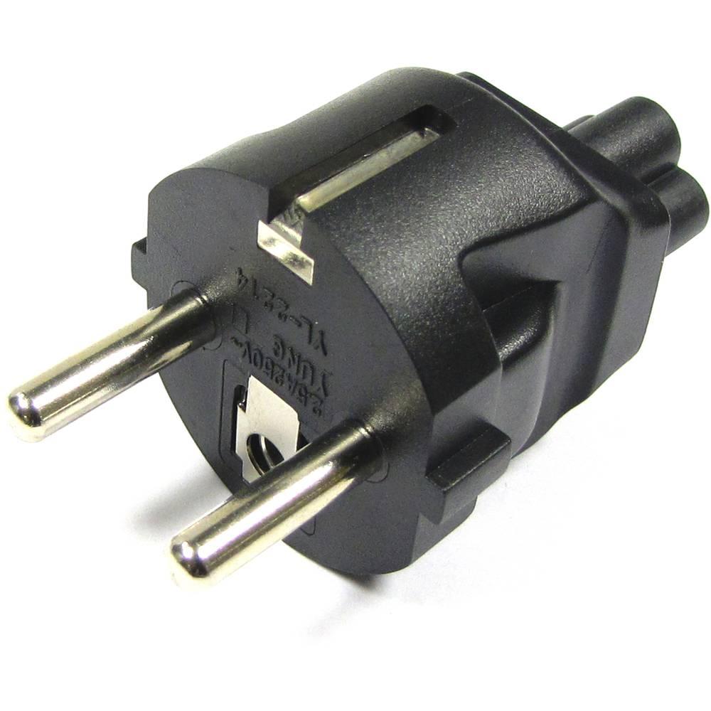 Adaptateur d/'alimentation sécurité Shucko Prise Type F CEE 7//4 pour Secteur Britannique Type G BS 1363