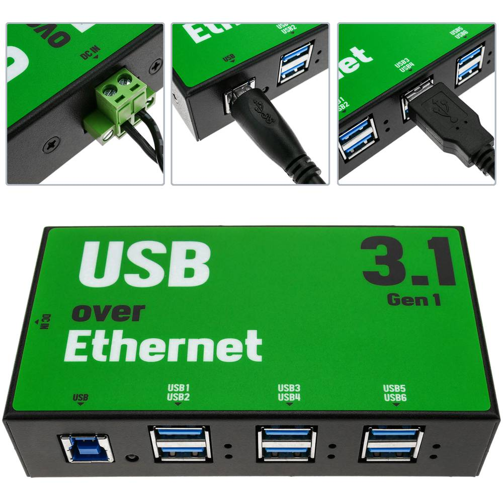 AnyPlaceUSB USB 3 1 SuperSpeed sharing over TCP/IP network 6