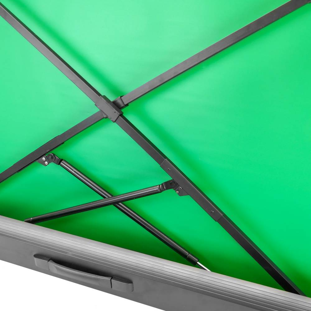 Collapsible chroma key screen panel  Green background for