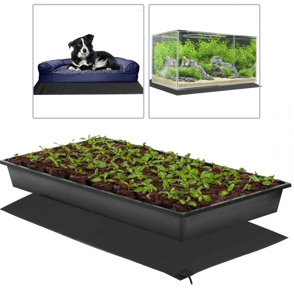 Tapis chauffant thermique pour plantes reptile terrarium - Tapis chauffant pour plante ...