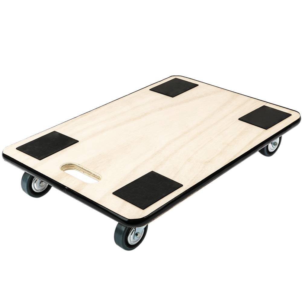 Transport Roller Platform Dolly With Wheels 600 X 400 Mm Cablematic