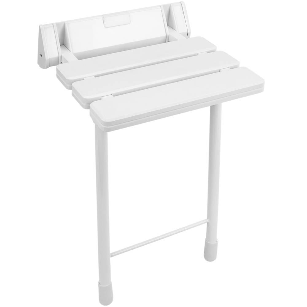 Sgabelli Pieghevoli In Plastica.Sedile Per Doccia Pieghevole Sgabello Con Gambe In Plastica E