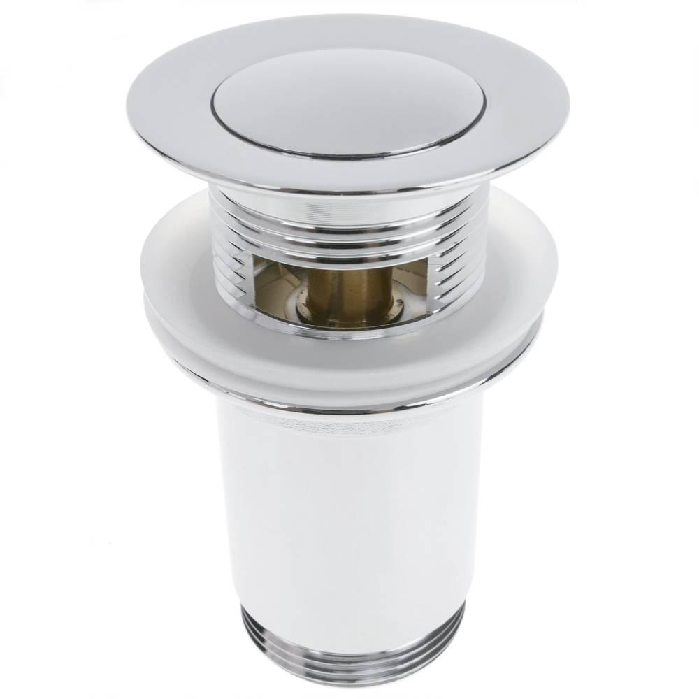 Válvula de desagüe 9cm. Tapón para lavabo y baño universal ...