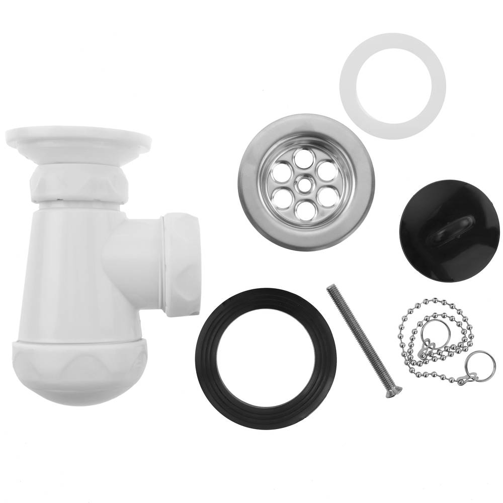 """Siphon Bottle basin and bidet without water 1/"""" 1//4"""