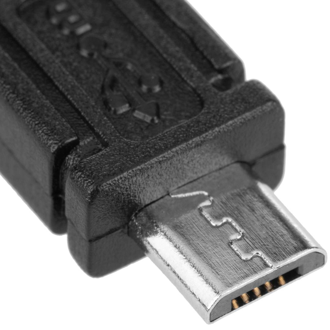 Cable USB OTG Micro USB macho macho 30cm Accesorios de