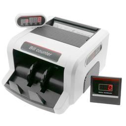 D/étecteur de faux billets Euro avec /écran LCD totalisateur control et v/érification argent contrefait PrimeMatik