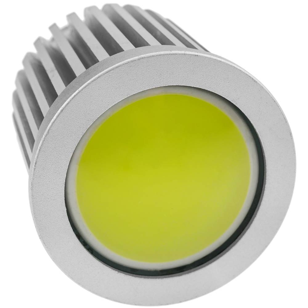 12VDC MR16 COB LED bulb light 7W 50mm cold day with diffuser