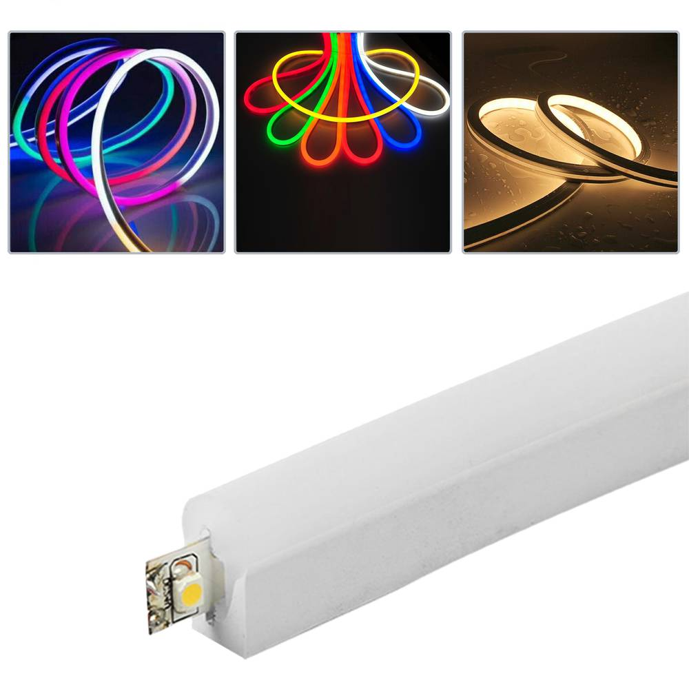 Flexible light strip LED Neon Flex LNF 26x14mm 220VAC 5m RGB