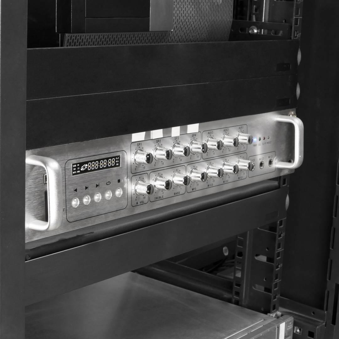 Panel ciego de 2U para armario rack 19