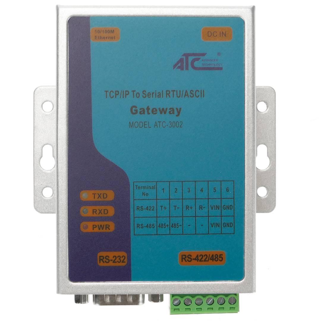 Modbus RTU / ASCII communication gateway to Modbus TCP