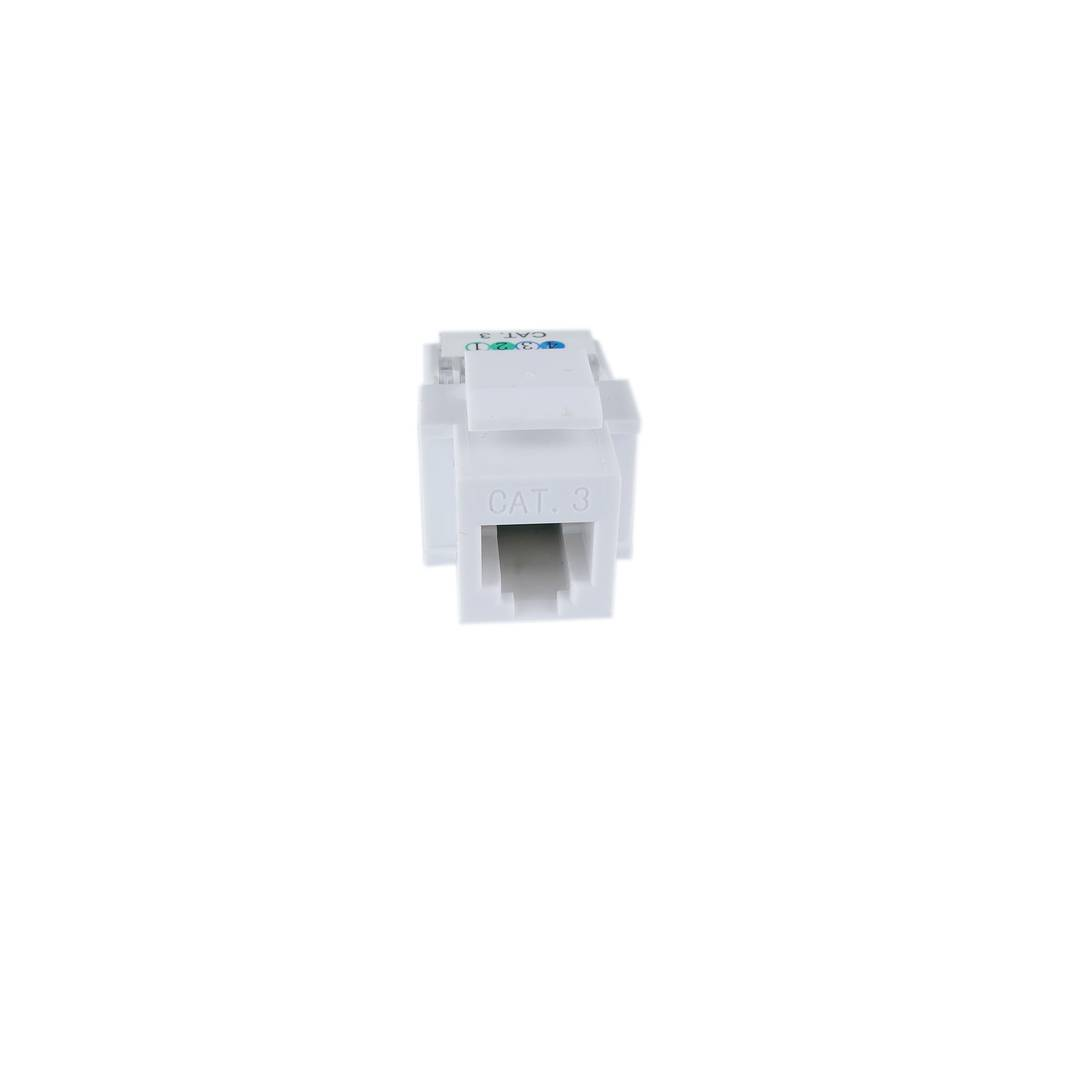 Phone Keystone RJ11 6P4C female model TB110 Category 3-B