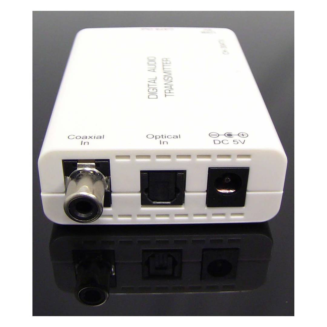 Digital Audio Extender UTP to coaxial and toslink Cat 5
