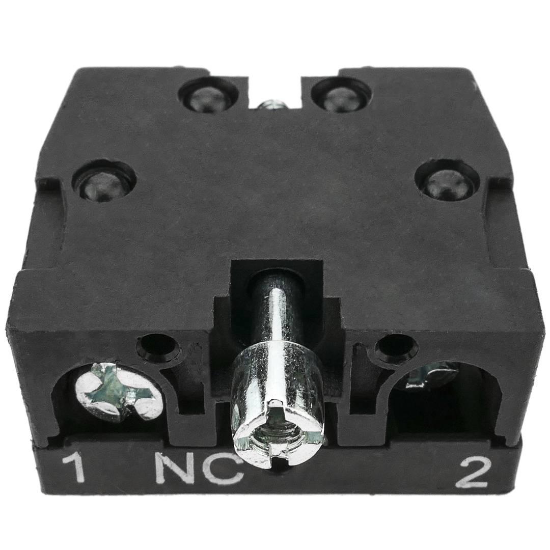 pulsante da pannello normalmente aperto chiuso NA NC rosso luminoso 22mm 250V 5A