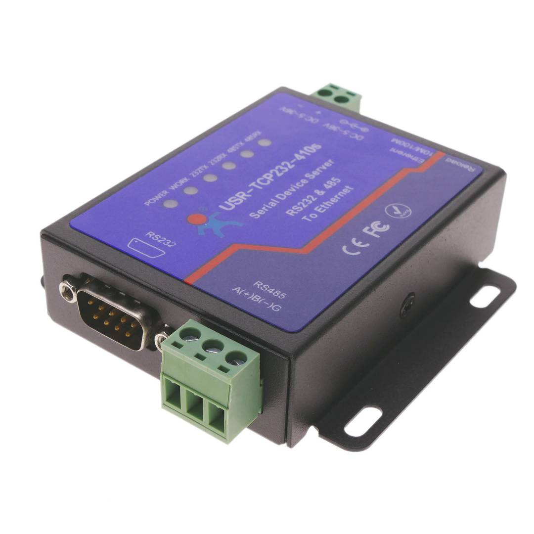 RS232 RS485 Cortex M4 serial module Ethernet TCP/IP with housing
