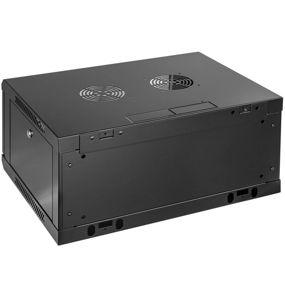 Server rack cabinet 19 inch 4U 600x450x280mm wallmount SOHORack by