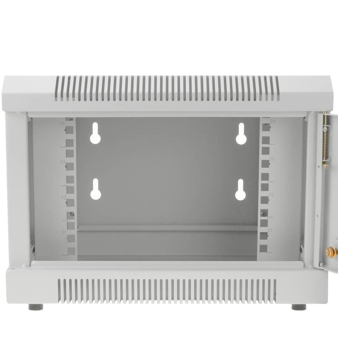 Server rack cabinet 10 inch 4U 370x280x260mm white wallmount TENRack