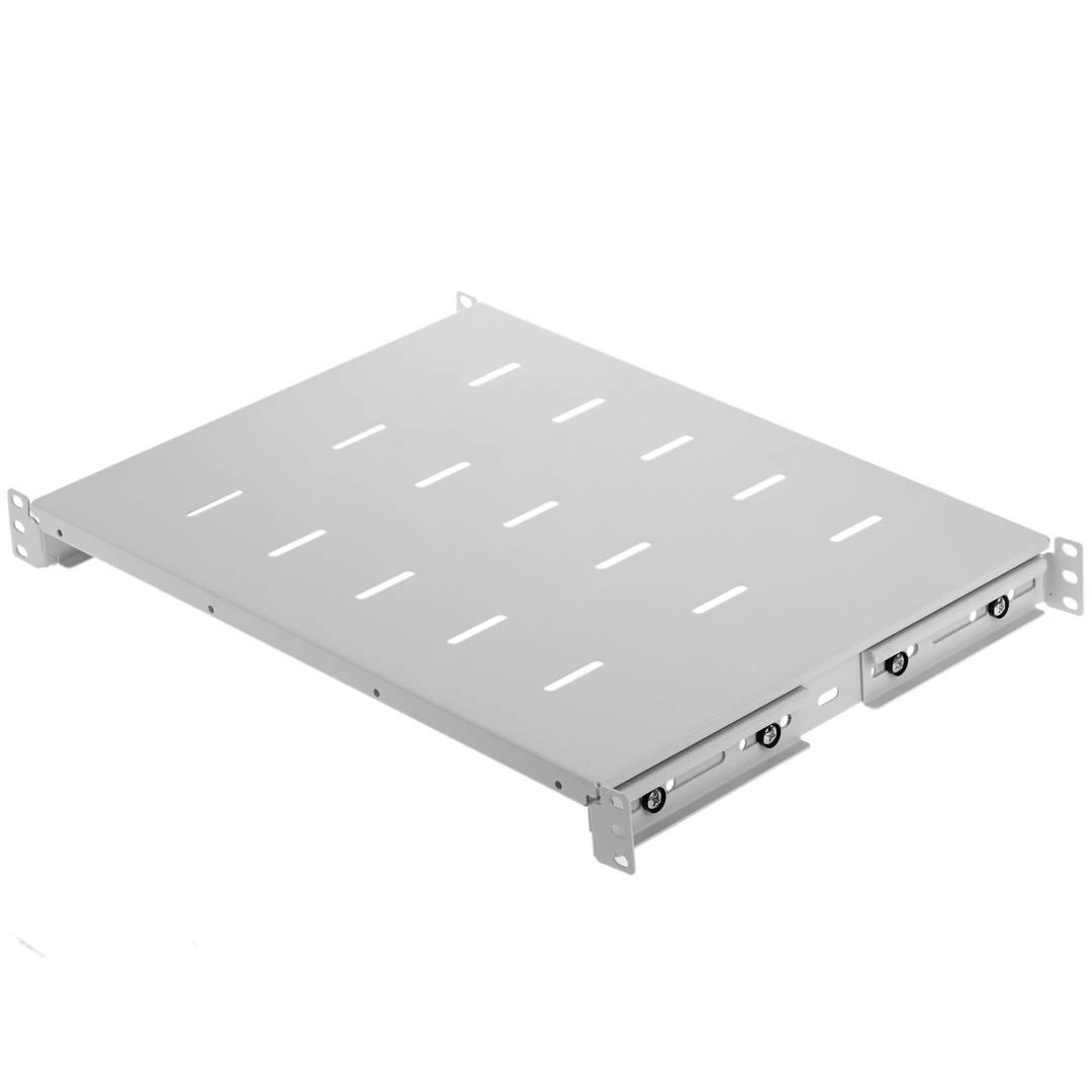 Ablagegestell 19 einstellbar in der Tiefe 650 mm 1HE RackMatic